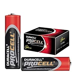 Duracell Procell Battery Alkaline 1.5V AA Ref MN1500 [Pack 10]