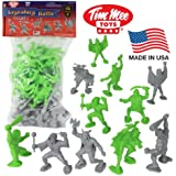 TimMee Legendary Battle 70mm Fantasy Figures: 32 Piece Set - Made in the USA!