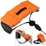First2savvv new orange Bobber Floating floaty grib Handheld digital camera SLR hand strap grip for Panasonic Lumix DMC-FS16 DMC-FS14 DMC-S3 DMC-S1 DMC-S3EB-WA DMC-S3EB-KA DMC-SZ9 DMC-SZ3 DMC-XS1 DMC-FS50 DMC-F5