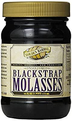 Golden Barrel Blackstrap Molasses, 16 fl. oz. (Single) by Golden Barrel
