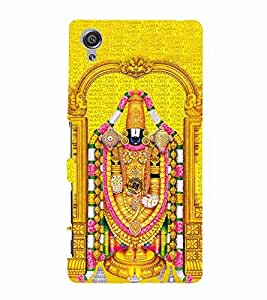 Lord Venkateswara 3D Hard Polycarbonate Designer Back Case Cover for Sony Xperia X :: Sony Xperia X Dual