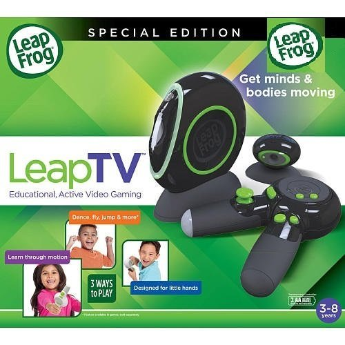 LeapFrog-LeapTV-Educational-Active-Video-Game-System-Black