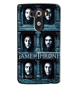 Blue Throat Game Of Thrones Hard Plastic Printed Back Cover/Case For LG G3