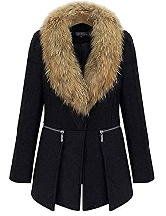 E--shopping Women Elegant Plus Size Winter Outerwear