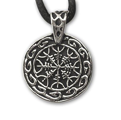 """Echt etNox - Ciondolo """"Elmi della paura"""" in argento puro 925 (K837)"""