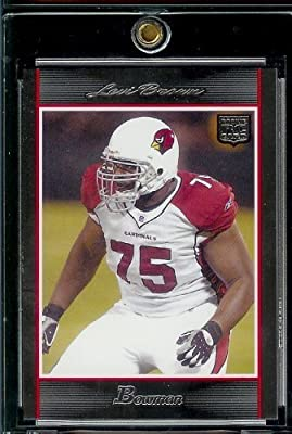 2007 Bowman # 218 Levi Brown (RC) - Arizona Cardinals - NFL Trading Football Rookie Card