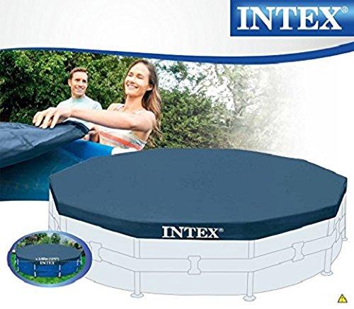 Bestway 58002 tappetino base 366 cm teli sotto piscine for Teli invernali per piscine intex