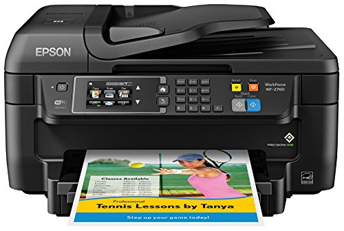 Epson WF-2760 All-in-One Wireless Color Printer with Scanner, Copier, Fax, Ethernet, Wi-Fi Direct & NFC (Printer Wireless Direct compare prices)