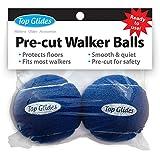 Pre-cut Walker Glide Balls - 9 Color Choices (Dark Blue)