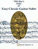 img - for Mel Bay Easy Classic Guitar Solos book / textbook / text book