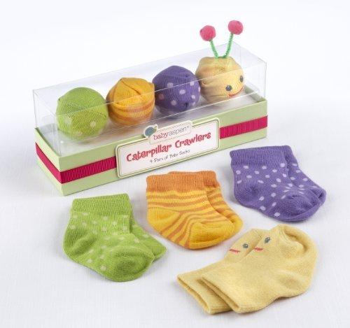 Imagen de Bebé Aspen Oruga del bebé Calcetines Crawlers Gift Set, 0-6 Meses