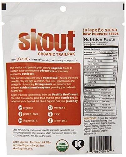skout organic raw pumpkin seeds