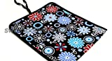 BABY TRAVEL CHANGING MAT MADE OF WATERPROOFSOFT MATERIAL 78x34 Flowers 2