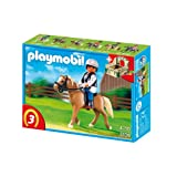 Playmobil Haflinger Horse with Rider and Stable 5109