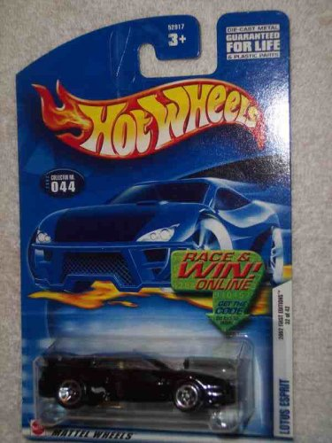 2002 First Editions -#32 Lotus Esprit With Tampo #2002-44 Collectible Collector Car Mattel Hot Wheels 1:64 Scale - 1