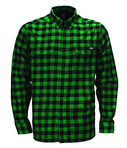 Dickies - Jacksonville, T-shirt Uomo, Verde (Kelly Green), Large (Taglia Produttore: Large)