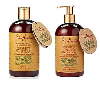 Shea Moisture Intensive Hydration Shampoo & Conditioner Set, 13 FL OZ