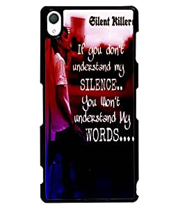 Fuson 2D Printed Quotes Designer back case cover for Sony Xperia Z3 - D4533