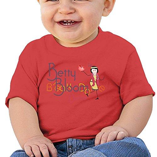 Bro-Custom Cool Dance Design Child Tech T Shirt Red Size 12 Months
