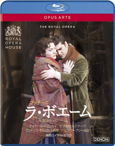 Puccini: opera «La/La Boheme» United Kingdom Royal / Opera 2009 [Blu-ray]