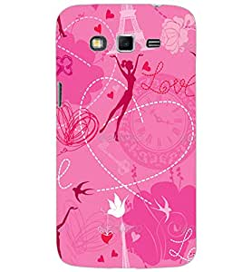 SAMSUNG GALAXY GRAND 2 LOVE Back Cover by PRINTSWAG