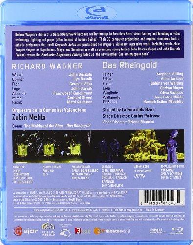 L'or du Rhin - Blu-Ray