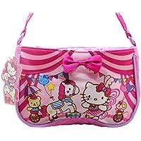 Hello Kitty Satin Pink Quilted Purse Handbag Circus Collection Kid