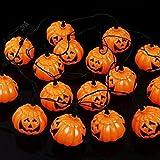 Decorazione di Halloween Orribile Puntelli Zucca Stile Led String Luce