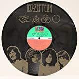 """Led Zeppelin Black Vinyl 12"""" Long Playing Album """"ZOSO"""" Laser Etched, Limited Edition"""