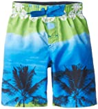 Big Chill Boys 2-7 Palm Tree Board Short, Blue, 4