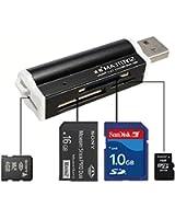 Multi-couleurs USB2.0 Lecteur de Carte Carte Reader Mémoire Micro SD MMC SDHC TF