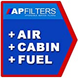 AIR FUEL CABIN FILTER SERVICE KIT Audi A6 2.7 TDI quattro Saloon 4F2 [2004-2011]
