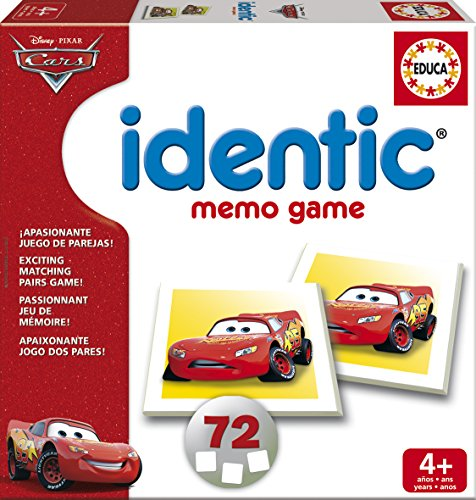 Cars - Juego Identic, color rojo (Educa Borrás 15884)