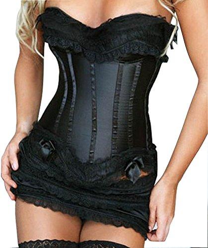 SAMGU Sexy Fashion Frauen Korsett Körper Spitze Korsett corset Dessous Slim Body G-string