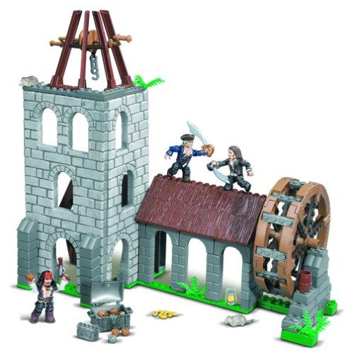 Mega Bloks 1027-Pirates of the Caribbean Water Wheel Duel günstig als Geschenk kaufen