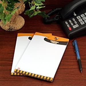 Buy Georgia Tech Yellow Jackets 2 Pack 5x8 Notepads (8170251) by Turner