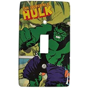 Incredible Hulk Light Switch Plate Cover from Westland