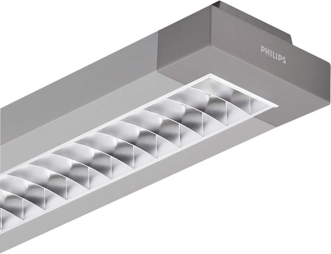 Philips Officeleuchte, EEK A , 15,9 x 6,7 x 154 cm, inklusive Multiwatt-EVG, silber 61109000