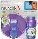 Munchkin Powdered Formula Dispenser Combo Pack, Colors May Vary