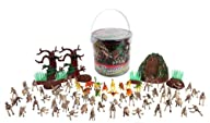 Dinosaur Skeleton Action Figures – Big Bucket of Skeleton Dinosaurs – Huge 75+ Piece Set Full of…