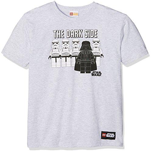 LEGO Star Wars Darkside, Maglietta Bambino, Grey (Sport Grey), 9-10 Anni