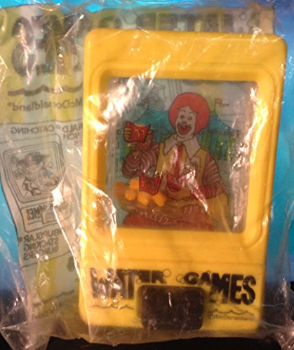 Ronald McDonald Water Game 1991 Happy Meal Toy