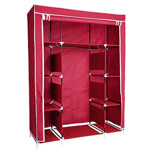 reasejoy-127x47x169-cm-non-woven-fabric-wardrobe-bedroom-closet-clothes-cupboard-hanging-rail-storag