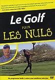 echange, troc Le golf Pour Les Nuls