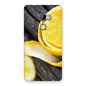 Ajay Enterprises Real Orange Peal Blackish Back Case Cover for LeTv Le Max