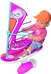 Zapf Creation 812686 - my little BABY born Puppe Wasserspaß Surfing