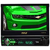 Pyle PLBT72G Motorized Touchscreen Bluetooth