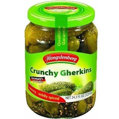 HENGSTENBERG PICKLE GHERKIN KNAX, 24.3 OZ (Knax Pickles compare prices)