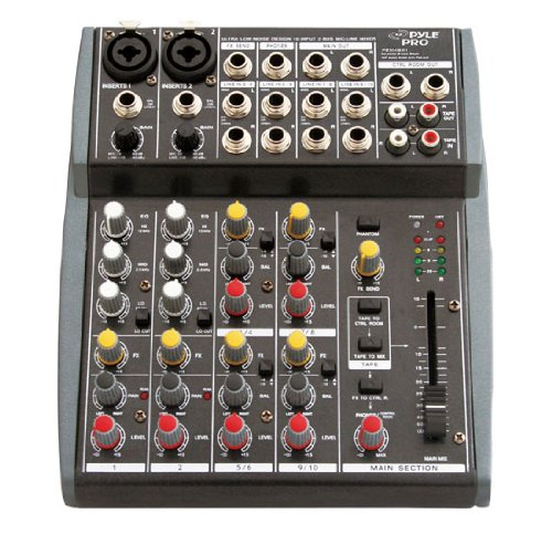 Pyle-Pro PEXM801 10 Channel Balanced Studio Grade