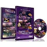 Aquarium DVD - Tropical Reef Aquarium - Filmed In 4K - with Natural Sound and Relaxing Music